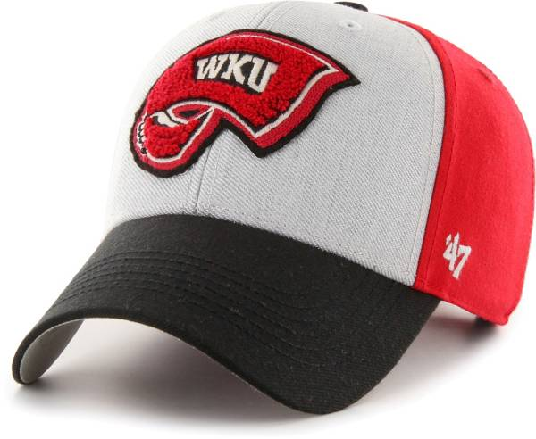 '47 Men's Western Kentucky Hilltoppers Red Tuft MVP Adjustable Hat product image