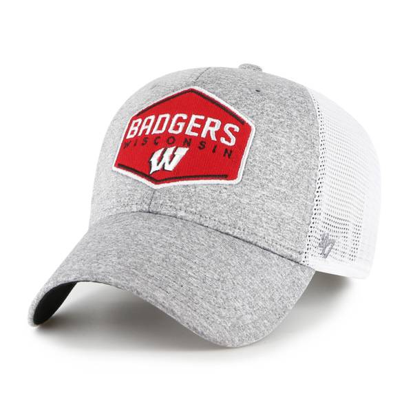 '47 Men's Wisconsin Badgers Hitch Contender Fitted Trucker Hat product image