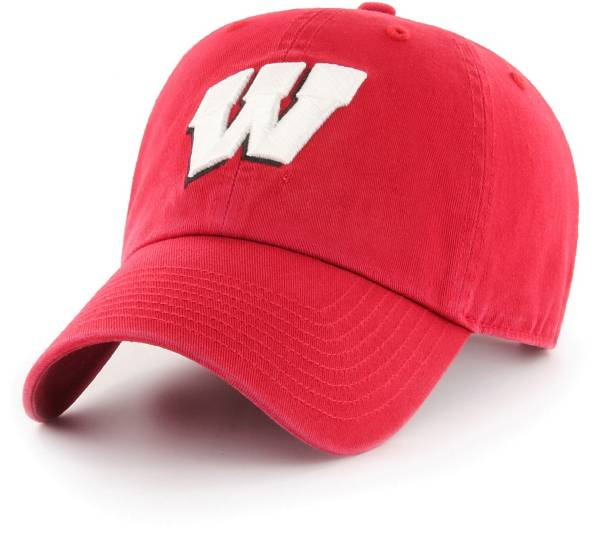 '47 Women's Wisconsin Badgers Red OTS Challenger Adjustable Hat product image