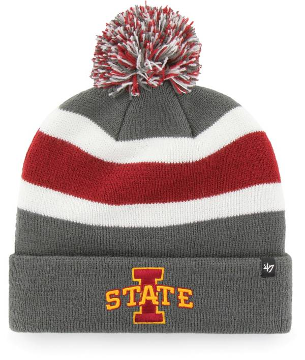 '47 Men's Iowa State Cyclones Grey Breakaway Cuffed Knit Hat product image