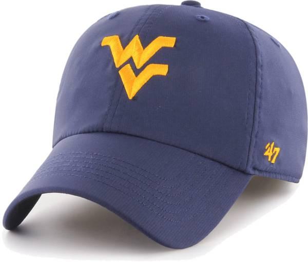 '47 Men's West Virginia Mountaineers Blue Clean Up Adjustable Hat product image