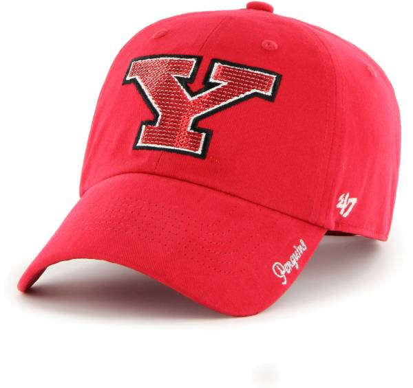 '47 Women's Youngstown State Penguins Red Sparkle Clean Up Adjustable Hat product image