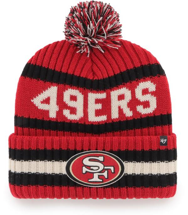 '47 Men's San Francisco 49ers Bering Red Cuffed Knit product image