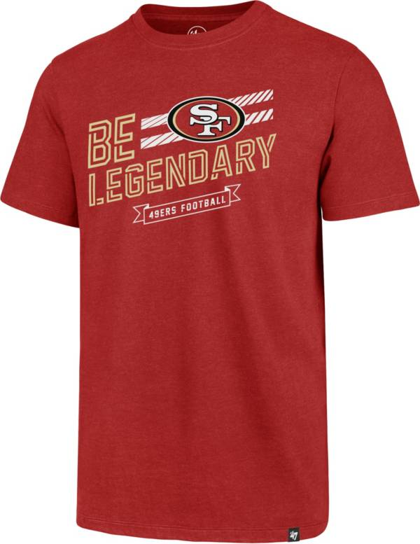 '47 Men's San Francisco 49ers Club Legendary Red T-Shirt product image