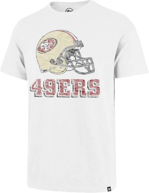 '47 Men's San Francisco 49ers Scrum Logo White T-Shirt product image