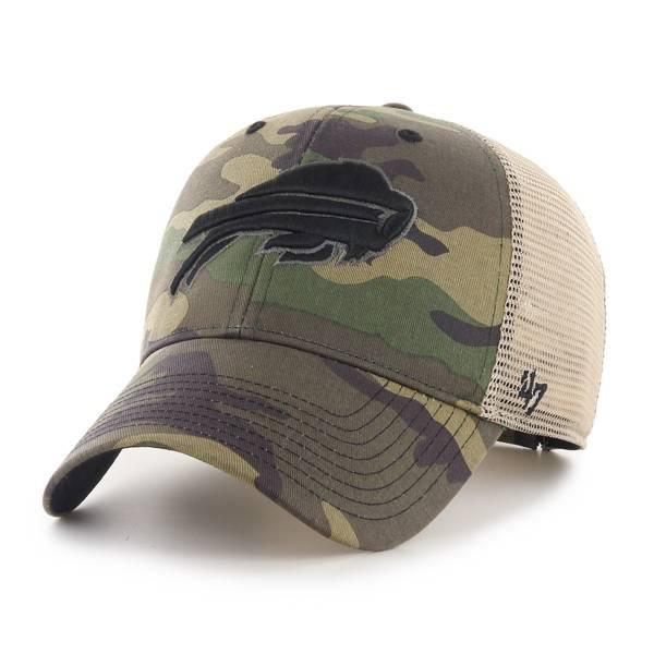 '47 Men's Buffalo Bills Camo Branson MVP Adjustable Hat product image
