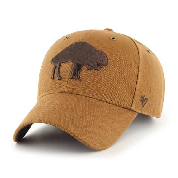 '47 x Carhartt Men's Buffalo Bills Tonal Brown MVP Adjustable Hat product image