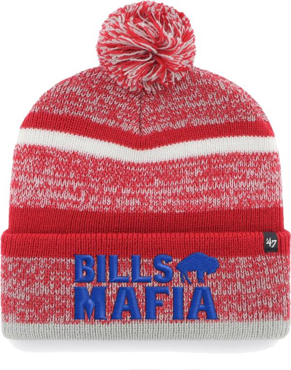 47 Men's Buffalo Bills Mafia Northwind Red Knit product image