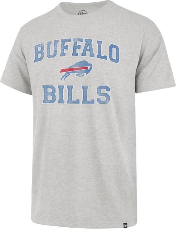 '47 Men's Buffalo Bills Arch Franklin Grey T-Shirt product image