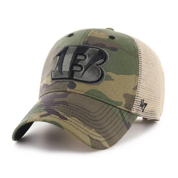 '47 Men's Cincinnati Bengals Camo Branson MVP Adjustable Hat product image