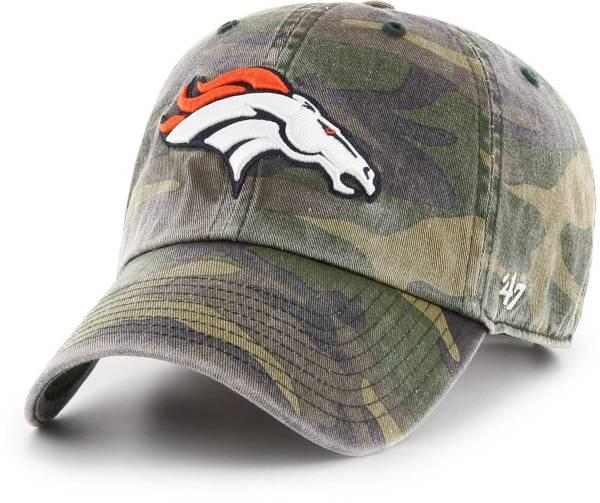 '47 Men's Denver Broncos Camo Cleanup Adjustable Hat product image