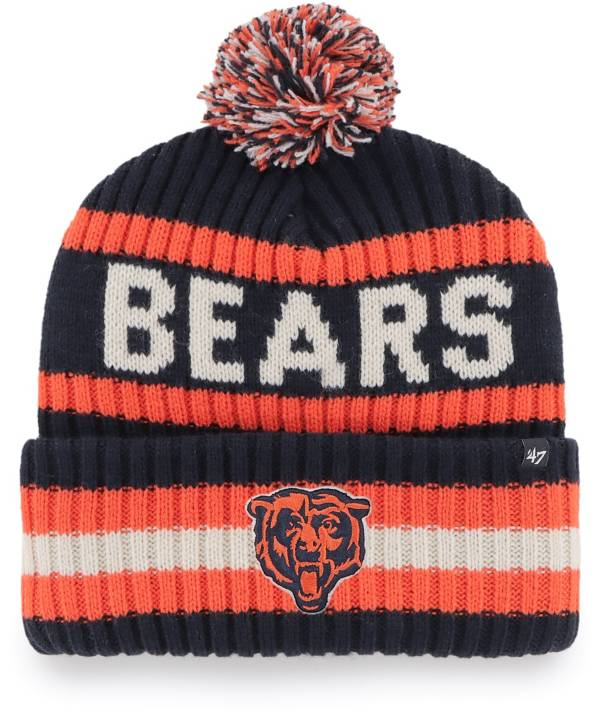 '47 Men's Chicago Bears Bering Navy Cuffed Knit Hat product image