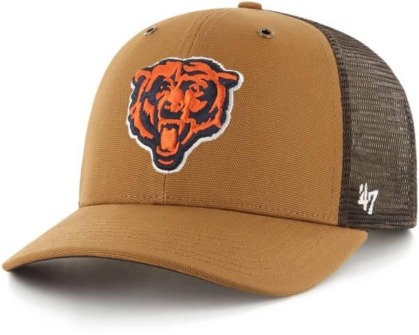 '47 x Carhartt Men's Chicago Bears Brown Mesh MVP Adjustable Hat product image
