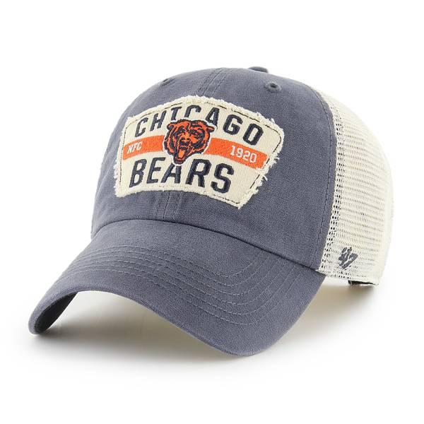 '47 Men's Chicago Bears Vintage Navy Clean Up Adjustable Hat product image