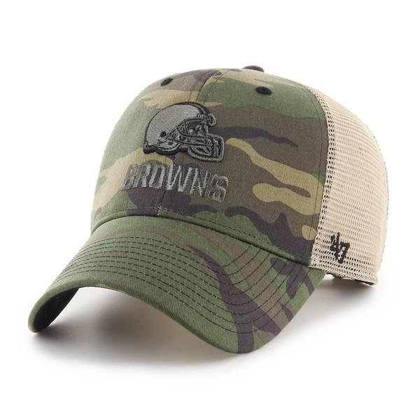 '47 Men's Cleveland Browns Camo Branson MVP Adjustable Hat product image