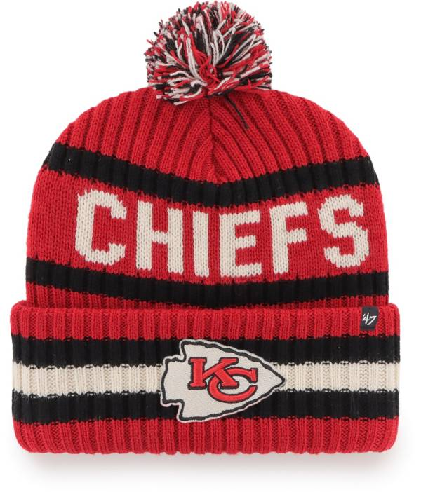 '47 Men's Kansas City Chiefs Bering Red Cuffed Knit product image
