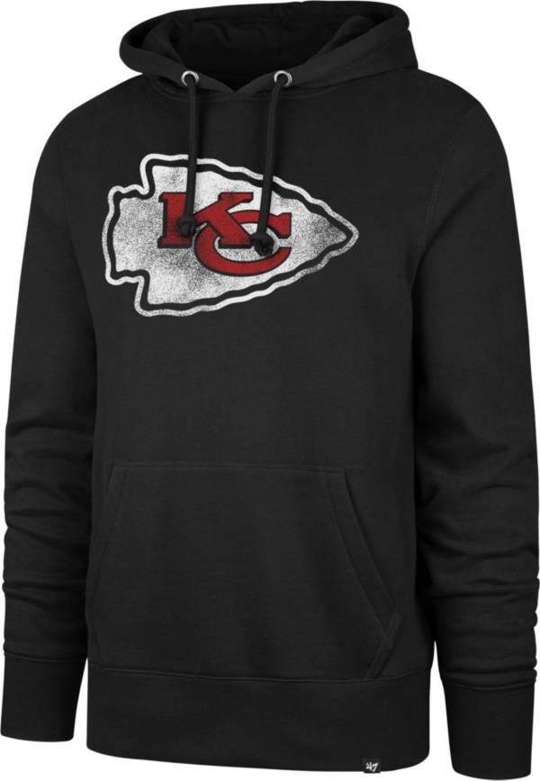 '47 Men's Kansas City Chiefs Logo Headline Black Hoodie product image