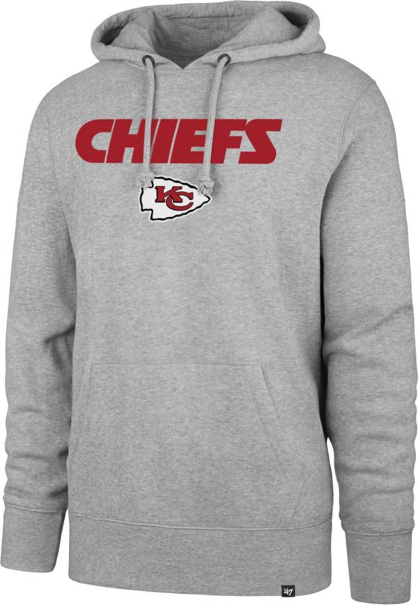 '47 Men's Kansas City Chiefs Pregame Headline Grey Hoodie product image
