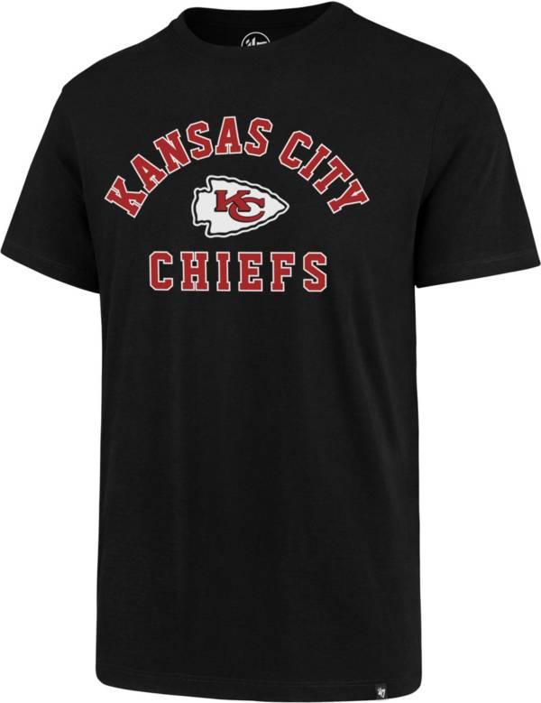 '47 Men's Kansas City Chiefs Arch Rival Black T-Shirt product image