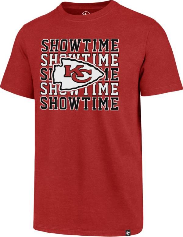'47 Men's Kansas City Chiefs Club Showtime Red T-Shirt product image
