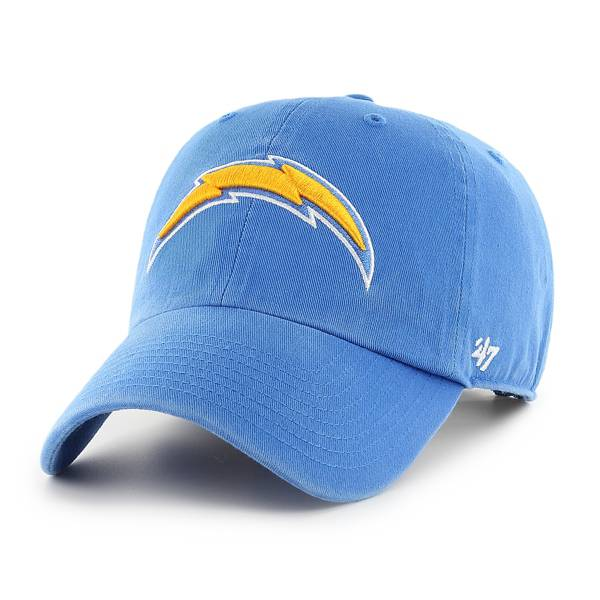 '47 Men's Los Angeles Chargers Clean Up Blue Adjustable Hat product image