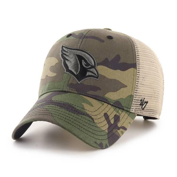 '47 Men's Arizona Cardinals Camo Branson MVP Adjustable Hat product image