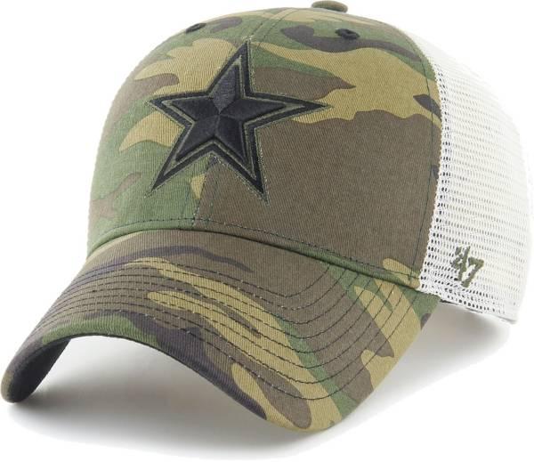 '47 Men's Dallas Cowboys Camo Branson MVP Adjustable Hat product image