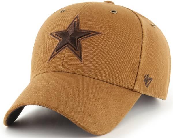 '47 x Carhartt Men's Dallas Cowboys Tonal Brown MVP Adjustable Hat product image