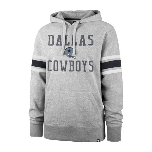 '47 Men's Dallas Cowboys Double Stripe Hoodie product image