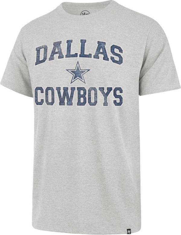 '47 Men's Dallas Cowboys Arch Franklin Grey T-Shirt product image