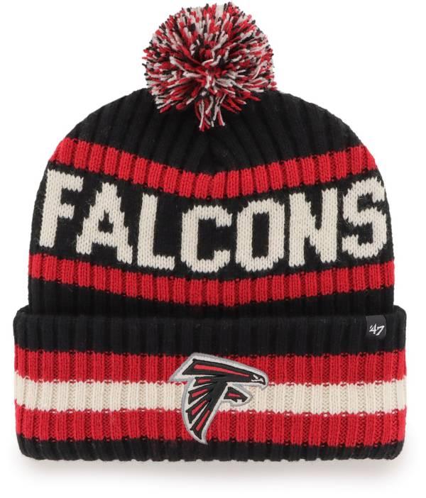 '47 Men's Atlanta Falcons Bering Black Cuffed Knit Hat product image