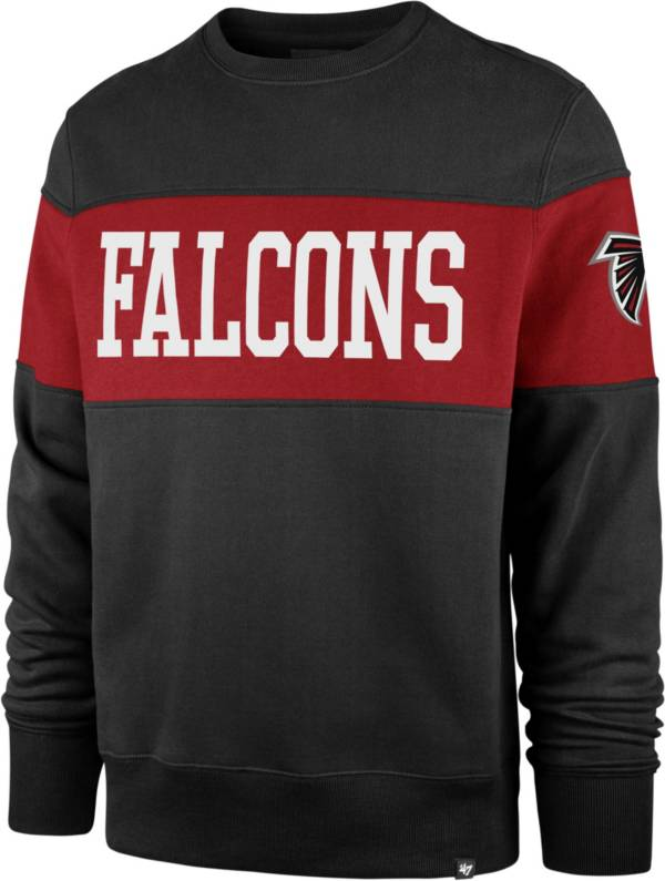 '47 Men's Atlanta Falcons Interstate Crew Black Sweatshirt product image