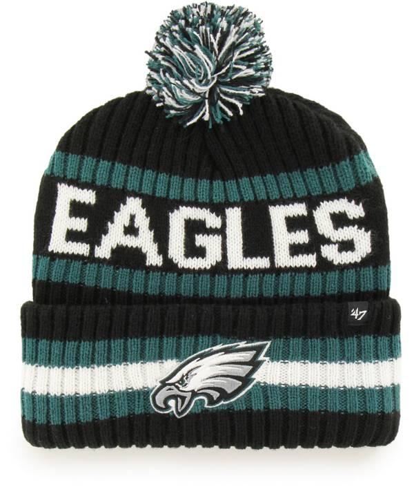 '47 Men's Philadelphia Eagles Bering Black Cuffed Knit product image