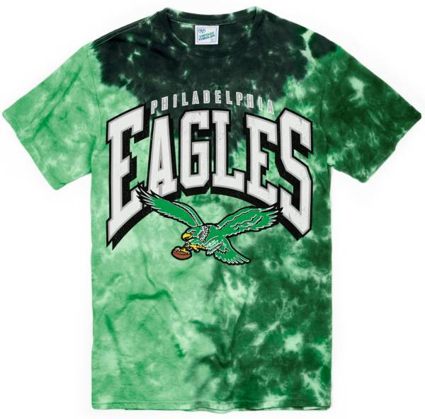 '47 Men's Philadelphia Eagles Tubular Tie Dye T-Shirt product image