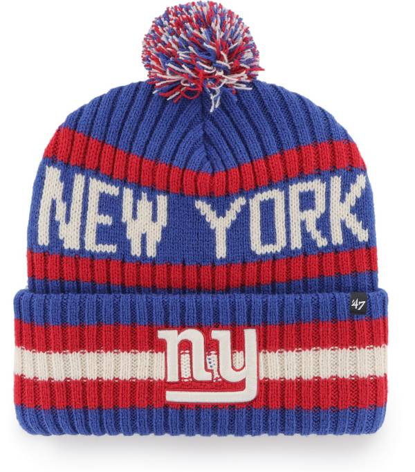 '47 Men's New York Giants Bering Royal Cuffed Knit Hat product image