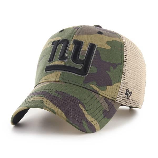 '47 Men's New York Giants Camo Branson MVP Adjustable Hat product image