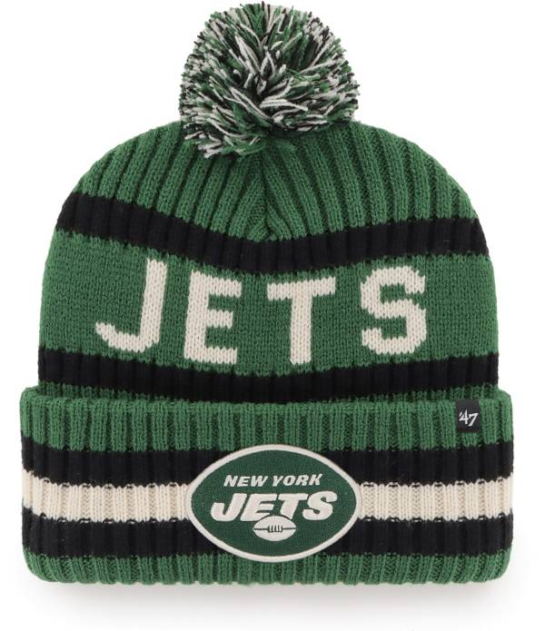 '47 Men's New York Jets Bering Green Cuffed Knit Hat product image