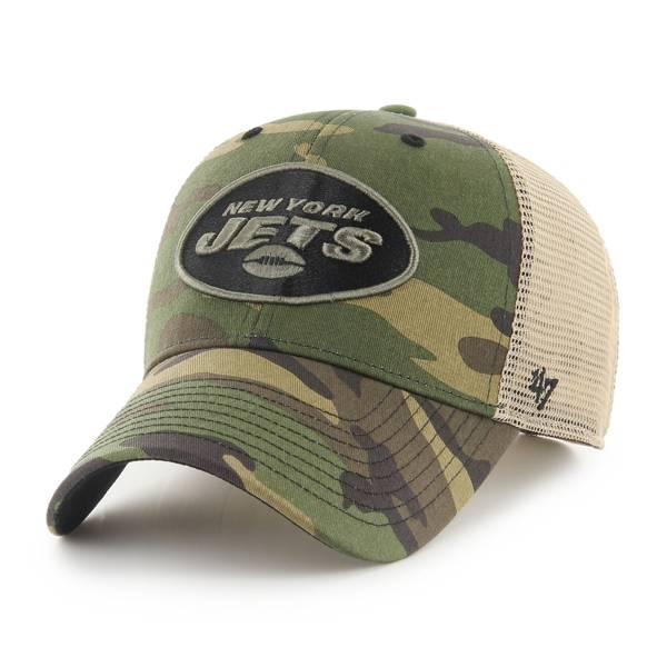 '47 Men's New York Jets Camo Branson MVP Adjustable Hat product image