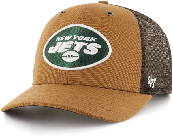 '47 x Carhartt Men's New York Jets Brown Mesh MVP Adjustable Hat product image