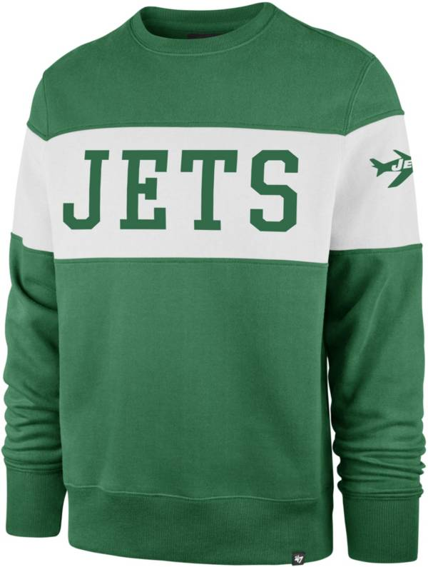 '47 Men's New York Jets Interstate Crew Throwback Sweatshirt product image