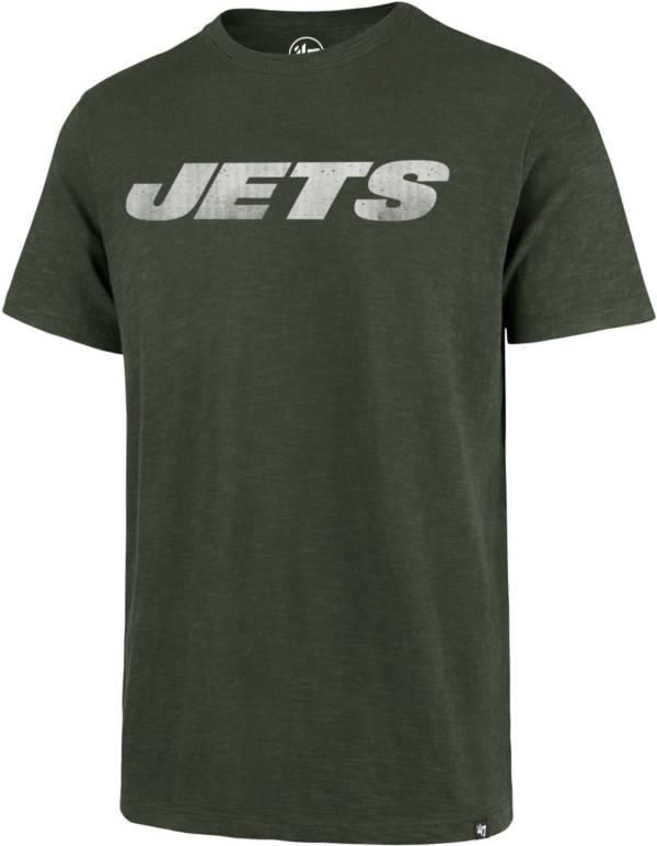'47 Men's New York Jets Scrum Wordmark Green T-Shirt product image