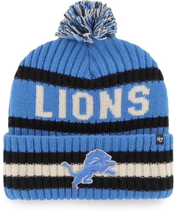 '47 Men's Detroit Lions Bering Blue Cuffed Knit product image