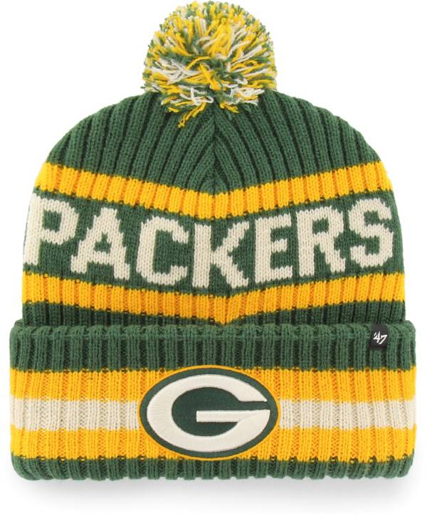 '47 Men's Green Bay Packers Bering Green Cuffed Knit Hat product image
