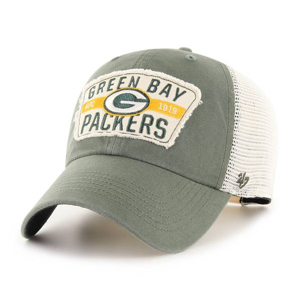 '47 Men's Green Bay Packers Green Crawford Clean Up Adjustable Hat product image