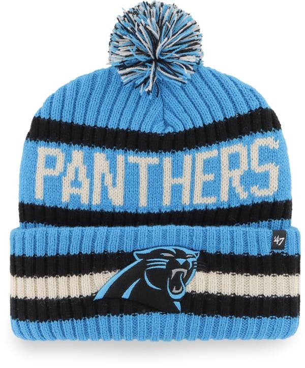 '47 Men's Carolina Panthers Bering Blue Cuffed Knit Hat product image
