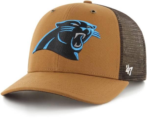 '47 x Carhartt Men's Carolina Panthers Brown Mesh MVP Adjustable Hat product image