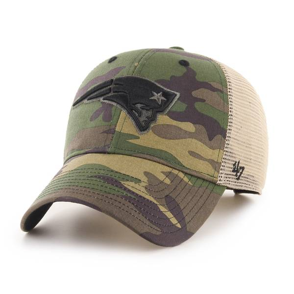 '47 Men's New England Patriots Camo Branson MVP Adjustable Hat product image