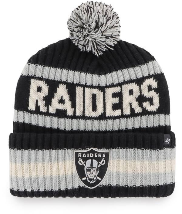 '47 Men's Las Vegas Raiders Bering Black Cuffed Knit product image