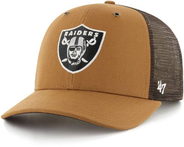 '47 x Carhartt Men's Las Vegas Raiders Brown Mesh MVP Adjustable Hat product image