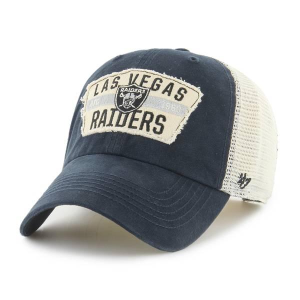 '47 Men's Las Vegas Raiders Black Crawford Clean Up Adjustable Hat product image
